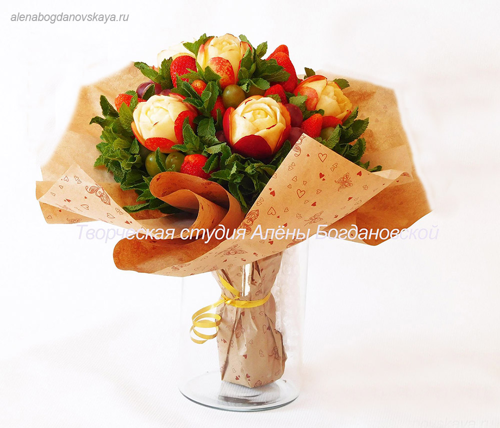 Курсы фруктовые букеты москва — img 10